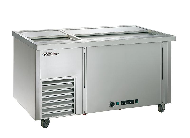 六桶冷暖甜品柜